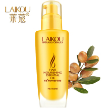 LAIKOU Brand 60ml Morocco Argan Oil Hair Care Dry Damaged Repair Treatment Nourishing Essential Oil Hair Loss Products Maquiagem