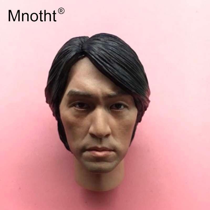 Mnotht 1:6 масштаб King комедии Стивен Чоу глава лепить модель Азиатский известные звезды голову резьба модель хобби коллекций m3