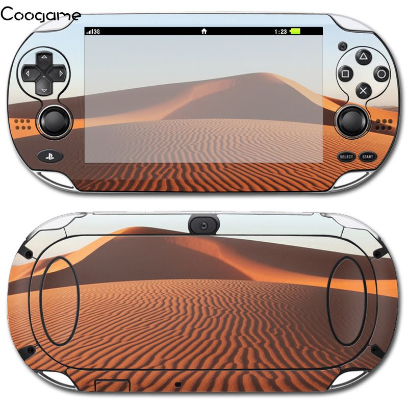 4 Styles Desert Sticker For PSVita 1000 Cool Decals For Playstation Vita 1000 Customize Skin