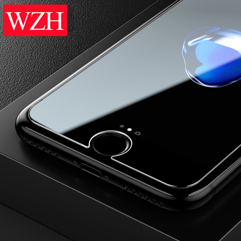 For IPhone X XS Max XR Tempered Glass For IPhone 11 Pro Max Glass Film For IPhone 5 5S SE 6 6s 7 8 Plus Screen Protector Case