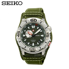 SEIKO SUPERIOR outdoor sports diving waterproof table nylon strap male form automatic mechanical watch SSA055J1