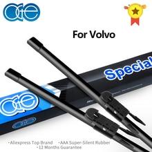 НГЕ Профессиональная щетка стеклоочистителя для Volvo XC70 XC90 V70 S60 S80 24 ''+ 22'' натуральный каучук лобовое стекло автомобиля аксессуары