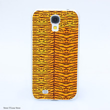 2170CA Luxury Just Cavallis Tiger Print Hard Transparent Case Cover for Galaxy S2 S3 S4 S5 & Mini S6 S7 & edge Plus