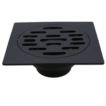 Drain-Cover Lid-Sewer-Cap Stainless-Steel Floor-Laundry Bathroom Kitchen Black for Durable