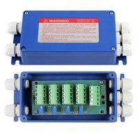4 Way Wiring Terminal Blocks weighing sensor Load Cell Summing Junction Box for Platform Scale|Terminal Blocks| |  -