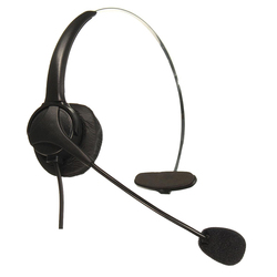 RJ11 Kristall Kopf telefon Headset mit mikrofon