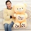 1pcs big size 70cm Stuffed Plush Toys Holding I Love You Heart Big Plush Teddy Bear Soft Gift for Valentine Day Birthday Girls