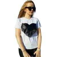 Hot Sale Cotton T Shirt Tops Women 2016 Summer Style Tshirt Women O Neck Shorts Sleeve