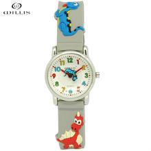 Willis Waterproof Kid Watch Children Dinosaur 3D cartoon Silicone Wristwatch Brand Quartz Fashion Casual Relogio watch