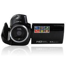 2016 Popular Travel Portable 720P 16MP Digital Video Camera Camcorder  DVR 2.7″TFT LCD 8X Digital ZOOM free shipping color