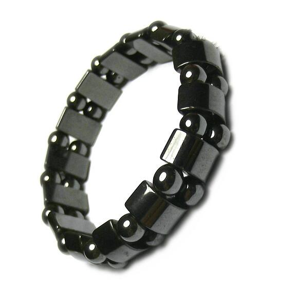 New Fashion Charm Black Magnetic Hematite Bracelet for Men Women Healthy Bracelets Natural Stone Bracelet Jewelry Accessories