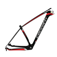 New carbon mtb frame Ceccotti 29er BSA/BB30 bottom bracket carbon mountain bike frame cadre bicycle frameset