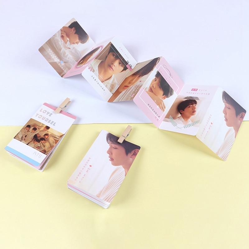1 Stücke Kpop Bts Bangtan Boys Liebe Selbst Album Foto Photocards Postkarten Poster Gruß Karte