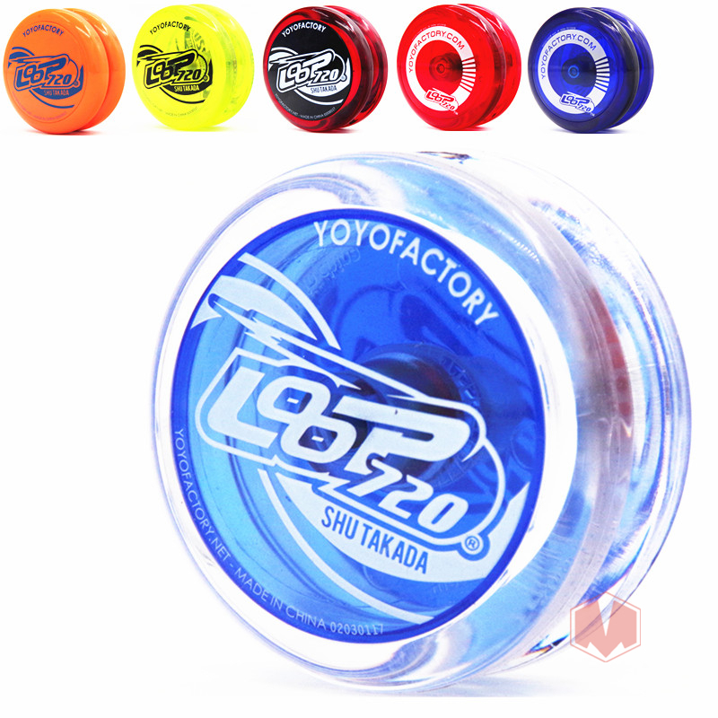 YYF LOOP720 YOYO professional yo - yo CNC Metal bearing yoyo plastic ball for beginner level yoyo Free shipping free shipping hot sale ball bearing beboo yoyo n12 upgraded version alloy aluminum yo yo metal professional auldey yo yo toy