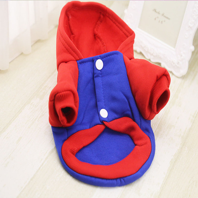 Warm Pet Dog Clothes Puppy Outfit Dog Clothes For Small Dogs Chihuahua Clothes Clothing Winter Pet Coat Yorkies XS-XXL 27S1