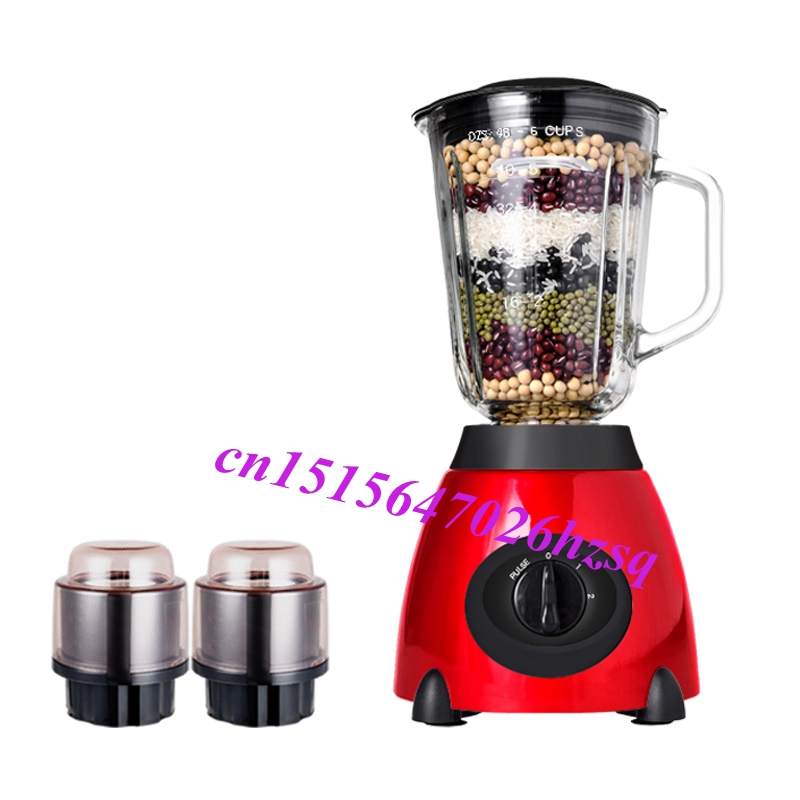 Electric Food Blender Mixer Extractor Juicer Fruit Vegetable Citrus Juice Extractor Squeezer household electric juicer fruit juice maker machine automatic vegetable low speed extractor mixer