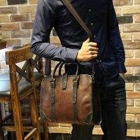 Retro Good Quality Leather Men S Handbag 13 Inch Men Business Computer Bag Single Shoulder Bag