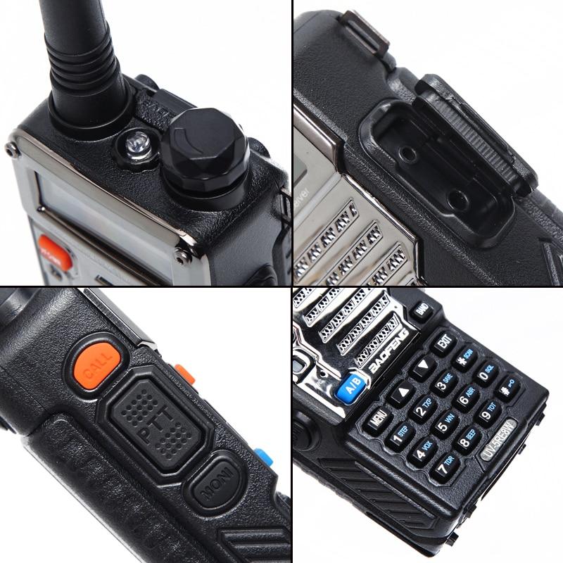 Image 4 - BAOFENG UV 5RE Tri power 8W/4W/1W 10km long range HIGH POWER  Handheld walkie talkie cb HAM Two way Radio upgrade of UV 5REpowerful  walkie talkiesbaofeng uv-5r 8wuv-5r 8w