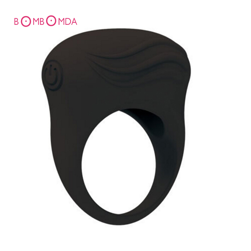 Buy Silicone Penis Ring  Adult Sex Products Men Waterproof  Vibrating Clitoral Stimulate Tongue Cock Rings Time Delay Penis Ring