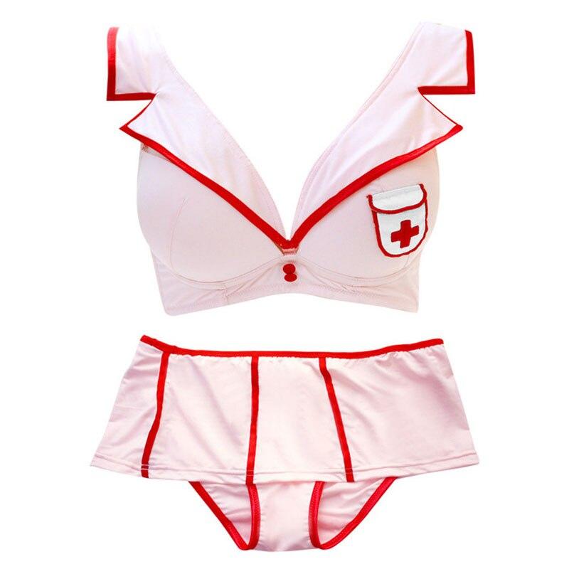 Buy New Fashion Sexy lingerie sets discount sale Lingerie Women Role Nurses Uniforms lingerie sexy hot erotic sex clothes