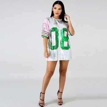 2019 AKA O-Neck Shirt custom ladies new style sequin hip hop t-shirts 1
