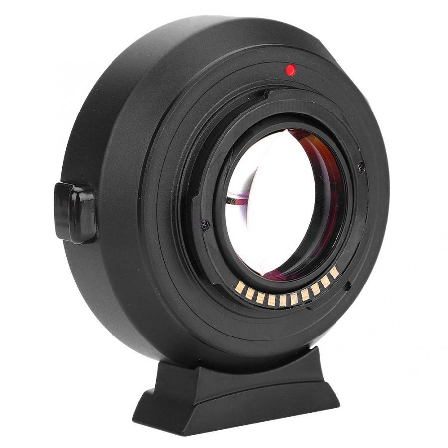 VILTROX EF-FX2 0.71x adaptateur de montage de mise au point automatique anti-secousses pour objectif Canon EF/EF-S vers pour adaptateur d'objectif à came sans miroir FUJIFILM