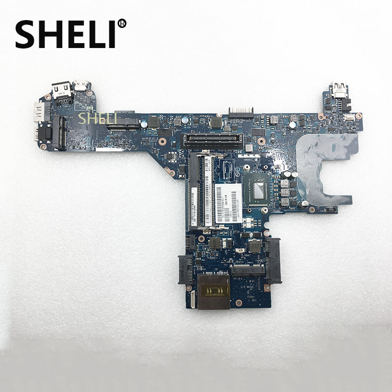 SHELI For DELL Latitude E6330 Laptop Motherboard <font><b>I5</b></font>-<font><b>3380M</b></font> QAL70 LA-7741P 0DCDH4 SR0X9 CPU mainboard 100% tested good working image