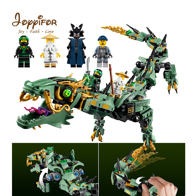 Generous Joyyifor Movie Flying Mecha Big Dragon Action Toys Building Blocks Compatible With Legoinglys Ninjagoingly Figure For Children Famous For Selected Materials Delightful Colors And Exquisite Workmanship Novel Designs