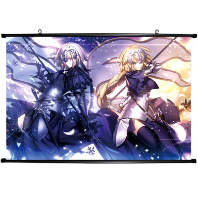 Japan Anime Fate//Grand Order Saber Wall Scroll Poster Home Decor  Free shipping