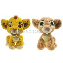 The Lion King Plush Toy Cute Simba and Nala Stuffed Animals 20cm 8'' Soft Toys for Children Kids Gifts