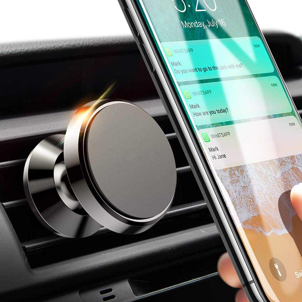 Universal Magnetic Car Phone Holder For Phone In Car Mobile Holder Stand Air Vent Mount Grip Bracket Magnet Cell Holder Support