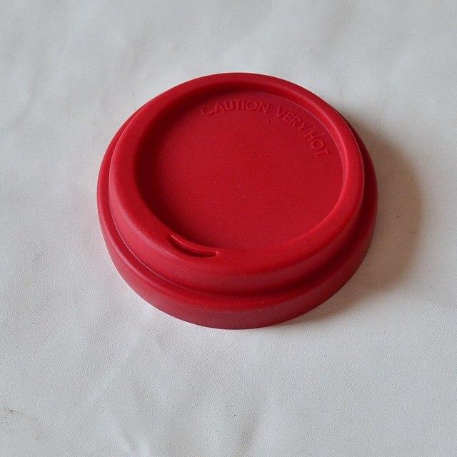 Shuny 6 pi/èces Gobelet en Silicone Couverture,Couvercles de Tasse de Boisson de Silicone,Couvercle de Tasse en Silicone,Couvercles en Silicone Couvercles