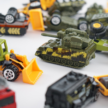 Toy Diecast Metal Alloy Model Toy Car Metal Military Vehicle Wheel-car  Police Tractor Excavator gift of boys toys kids toys