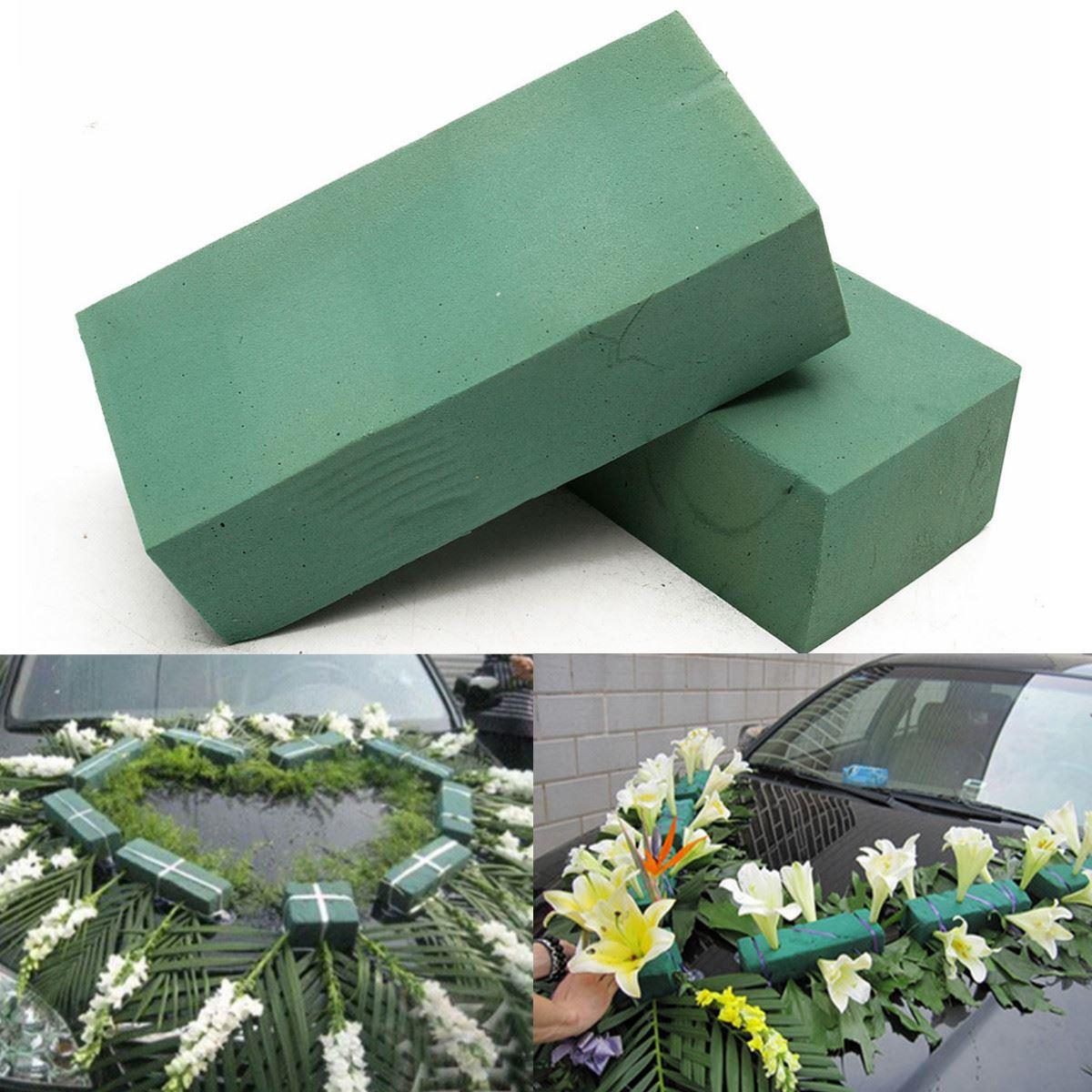 Fresh Flower Wedding Bouquet Foam Handle Holder