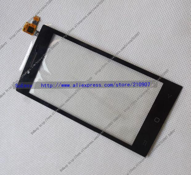 imágenes para Original doogee dg450 digitalizador de la pantalla táctil de 4.5 pulgadas panel galss frente para latte dg450 teléfono envío gratis