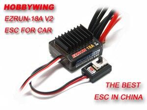 Image 1 - F17805 Hobbywing 18A V2 2 3S Lipo SPEED CONTROLLER ESC BEC Output 6 V/1.5A สำหรับ 1/16 1/18 RC Car