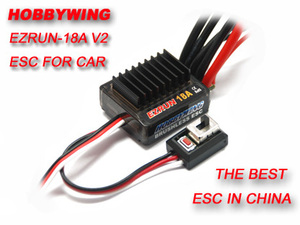 Image 1 - F17805 Hobbywing  18A V2  2 3S Lipo Speed Controller Brushless ESC BEC Output 6V/1.5A  for 1/16 1/18 RC Car