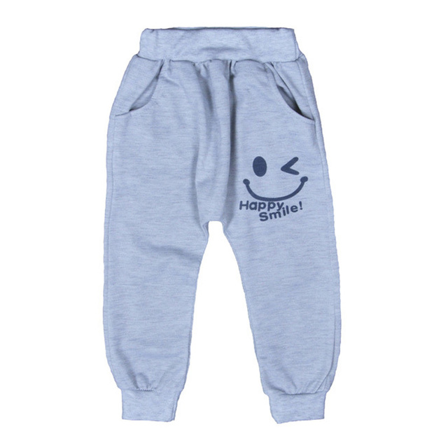 a5878f3cf619 Free Shipping New 2017 Hot Sale Children cotton pants Boys Girls Casual  Pants 2 Colors Kids Sports trousers Harem pants