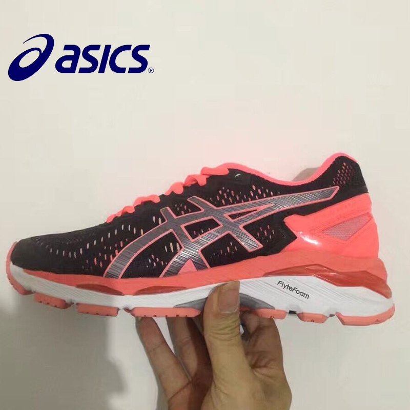 New ASICS GEL-KAYANO 23 T646N Woman's Shoes Breathable Stable Running Shoes Outdoor Tennis Shoes Hongniu цены онлайн