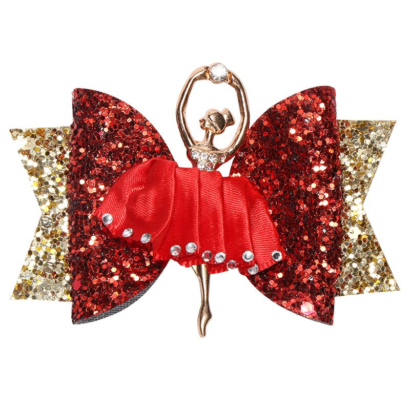 Bow Sparkly Hair Clip for Women Girls Hairpin Kids Barrettes Hair Accessories