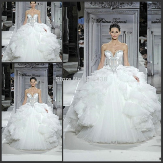 the best apparel2014 kleinfeld pnina tornai sweetheart ball gown