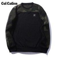 Autumn Fashion Men Hoodie Casual Cotton Camo Green Male Sweatshirts Brand Long Sleeve Camouflage Men S