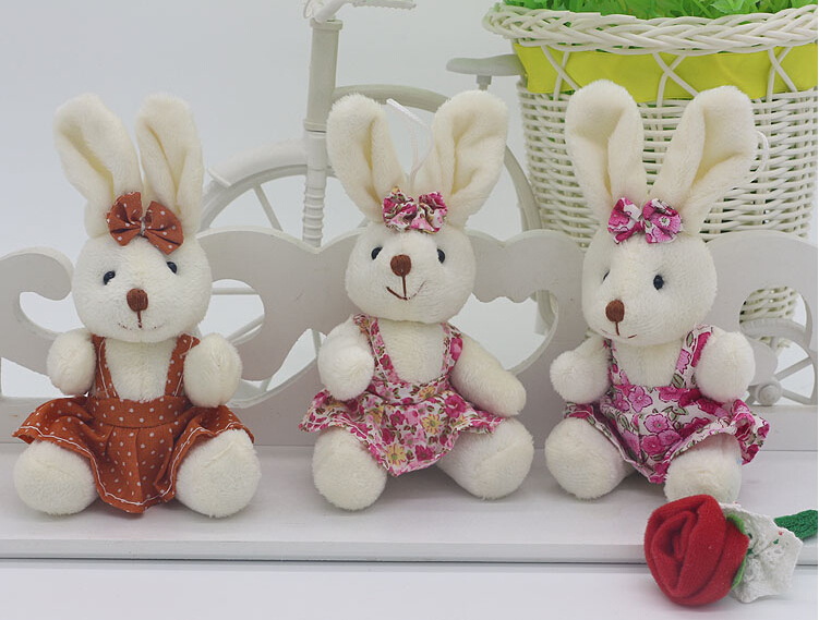 Wholesale easter gifts set of wicker fruit basket wholesale with wholesale easter styles wearing clothes cute rabbit plush toys christmas decoration birthday gifts hanging ornamentsin stuffed negle Image collections