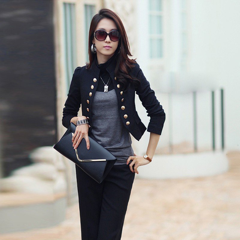 Cropped Blazer Promotion-Shop for Promotional Cropped Blazer on ...