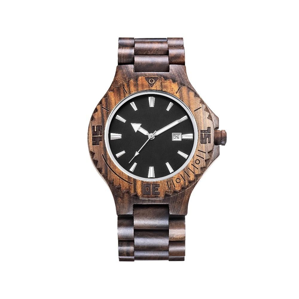 Fathers Day Gift Watch Casual Vintage Lightweight Wooden Watches Antique Retro Watch Wood Luxury Men Wristwatch Reloj Masculino ...