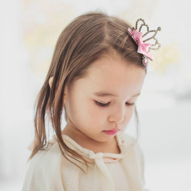 Neue Kinder Haar Kopfschmuck Crown Baby Kinder Madchen Kristall