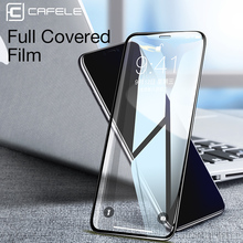 Cafele Full Coverage Glass For iPhone X XR XS MAX 8 plus 7 6 Screen Protector Tempered Film xs x HD Clear