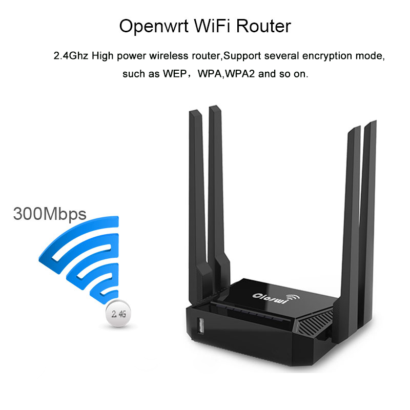 US $19 88 30% OFF|3g modem wifi router 300mbps wifi device with usb wfi  antenna router support zyxel and Keenetic Omni II firmware MT7620 chip-in