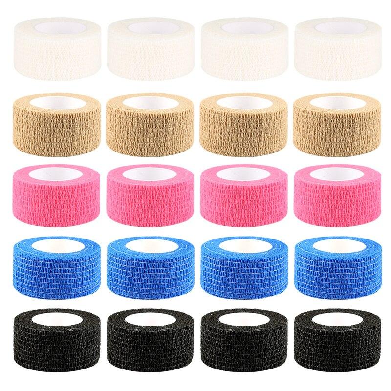 1pcs Self-adhesive Elastic Bandage Emergency Medical Care Sports Fitness Finger Wrist Care Ankle Treatment Waterproof Gauze Tape
