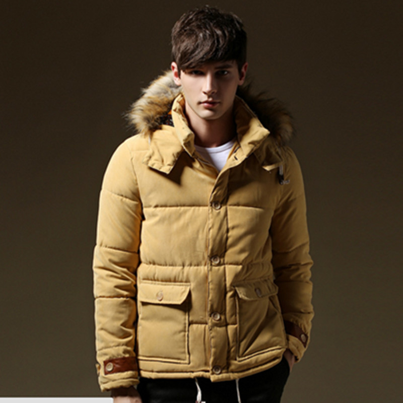 The highest quality brand thickening casual cotton new fashion winter jacket men classic warm coat size M-5XL winter jacket men winter coat men s youth thickening long men s cotton cotton sweater men s tide winter coat jacket